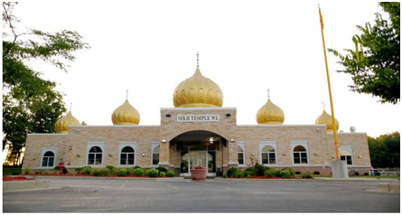 The Sikh Temple of Wisconsin, Oak Creek, Wisconsin – Photo:  sikhtempleofwisconsin.com