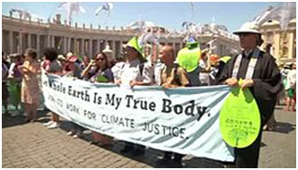 Laudato Si' has inspired grassroots responses around the world, including this interfaith march in Rome calling for climate change. – Photo: Wikipedia