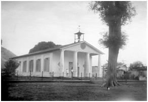 The Protestant Church of Bandanaira on Banda Island, Indonesia – Photo: Wikipedia