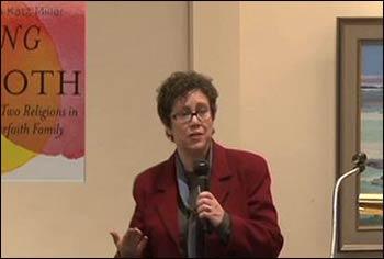 Susan Katz Miller speaking about her new book. Photo:  Vimeo