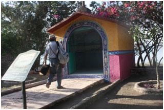 The chapel where Doris and Viveka spent the night. – Photo: Viveka Haven Davis