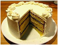 A layered pound cake – Photo: Wikipedia