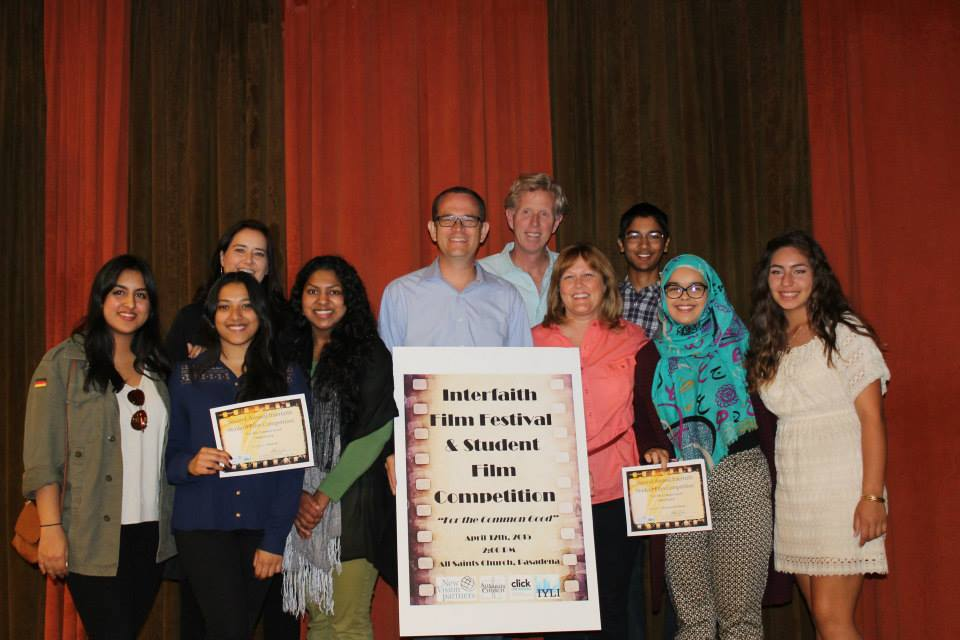 Winners of an interfaith film festival sponsored by New Vision Partners – Photo: New Vision Partners