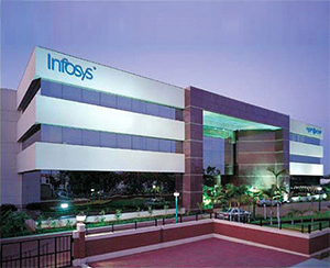 High tech is highly visible in India today. – Photo: Infosys