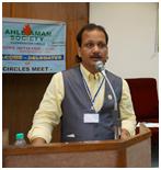 URI India national coordinator Biswadeb Chakraborty – Photo: URI