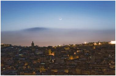 Fes at dusk. – Photo: Omar Chennaf