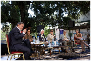 A session of the Fes Forum 2014 – Photo: Omar Chenaffi