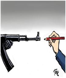 Photo: Twitter on Daryl Cagle – Tom Janssen cartoon