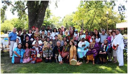 Hidden Springs participants – Photo: URI