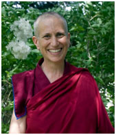 Venerable Thubten Chodrow – Photo: Sravasti Abbey