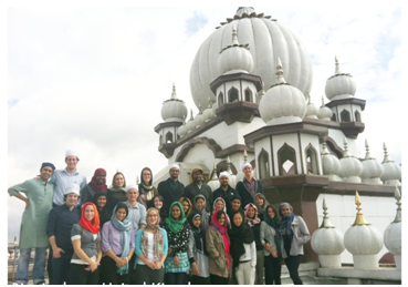 Faiths Act Fellows in Birmingham, UK – Photo: Imandeep Kaur