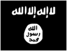 The flag of the so-called 'Islamic State' – Photo: Wikipedia