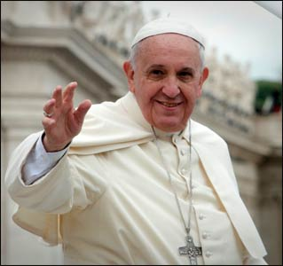 Pope Francis earlier this year – Photo: Wikipedia