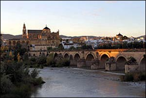 From the 8th till near the end of the 10th centuries CE, Cordoba, under Muslim rule, was one of the largest cities in the world, an intellectual hotbed, and fostered considerable interfaith respect and dialogue. – Photo: Wikipedia