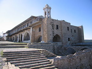 The monastery named for Jesus' follower, the Apostle Andrew, is being renovated as part of a reunification of what has been a divided Cyprus. – Photo: Wikipedia