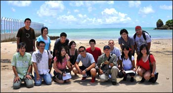 The Youth Group at the West Covina Buddhist Temple on a tour to Okinawa. – Photo: livingdharma.org