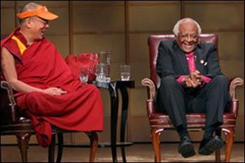The Dalai Lama and Bishop Desmond Tutu – Photo: Wikipedia