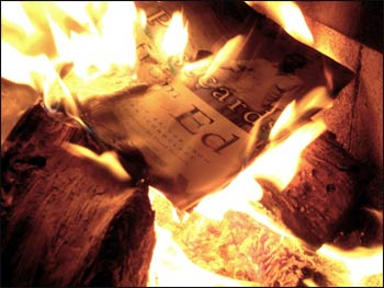 Banning and burning books have been with us since books began. – Photo: Alan Levine/Wikimedia