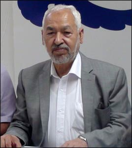 Rachid Ghannouchi – Photo: Wikipedia