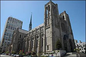 Grace Cathedral in San Francisco, home of the Episcopal Diocese of California – Photo: Wikipedia