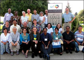 URI's global leadership met in Amman, Jordan in 2010. – Photo: URI