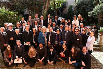 Speakers and participants at the Symposium on Cultural Diplomacy and Religion in Rome – Photo: Facebook