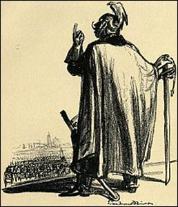 """""""I Believe in the Sword and Almighty God"""" (1914) by Boardman Robinson – Photo: WikipediaThis"""