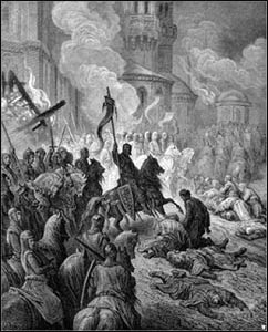 Entry of the Crusaders into Constantinople by Gustave Doré (1832–1883) – Photo: Wikipedia