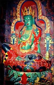 In Tibetan Buddhism, the Green Tara represents the Buddha of enlightened activity. – Photo: Wikipedia