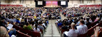 3,200 attend a BREAD event in Columbus last year. – Photo: BREAD Facebook