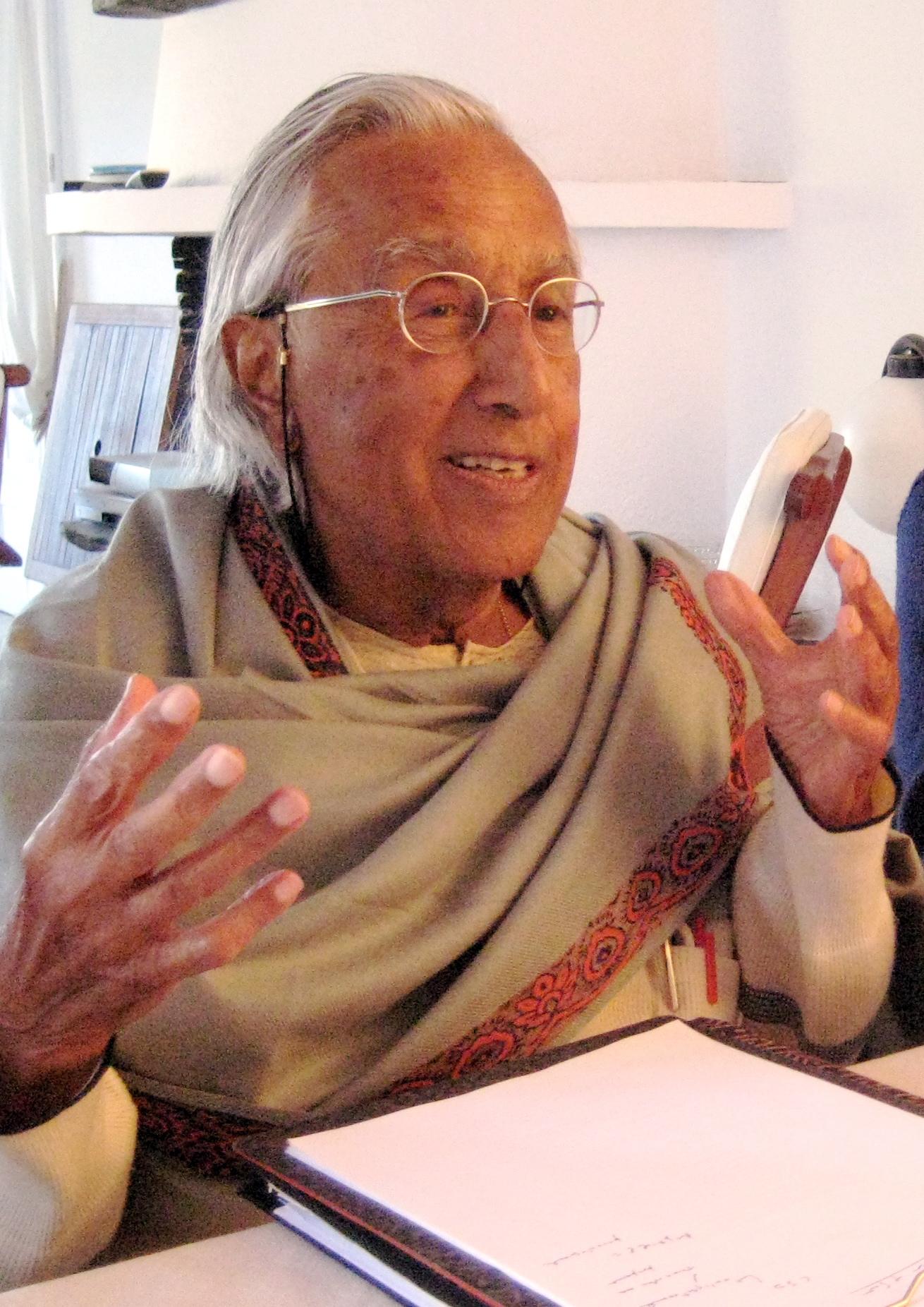 Raimondo Panikkar in 2007 –    Wikimedia, Milena Carrara, Cc.1.0