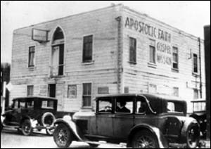 The Apostolic Faith Mission on Azusa Street, now considered to be the birthplace of Pentecostalism. – Photo: Wikipedia