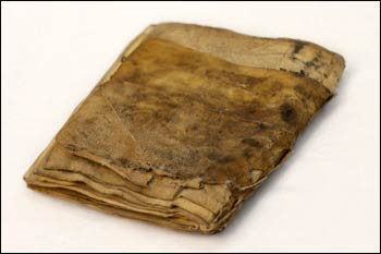 Likely the oldest Jewish prayer book ever found, dated by both scholars and Carbon-14 tests to circa 840 CE – Photo courtesy Green Scholars Initiative.