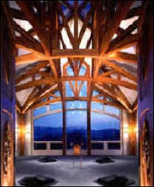 Meeting Room at St. Benedict's Monastery Retreat Center, Snowmass, Colorado, home of Fr. Thomas Keating, founder of Centering Prayer – Photo: isdna.org
