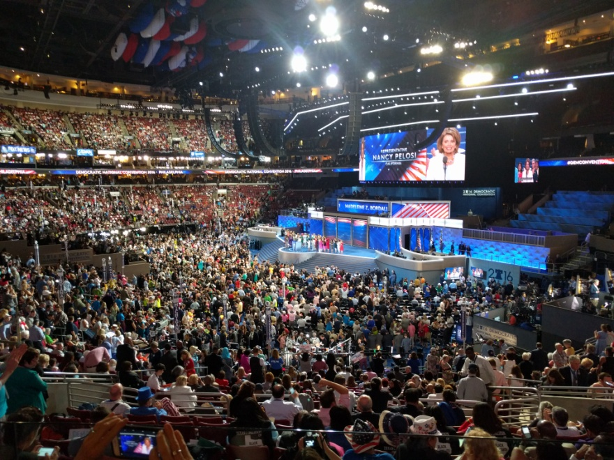 2016 Democratic National Convention – Photo: Wikimedia Commons