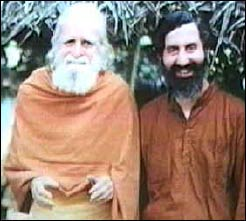 Brother Wayne Teasdale (r.), with Father Bede Griffiths