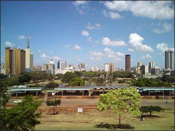 Nairobi's skyline – Photo: Wikimedia