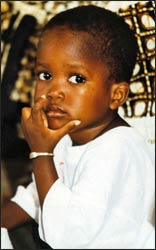 An orphan in Senegal – Photo: Wikipedia