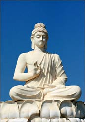 A statue of Buddha in Andhra Pradesh, India - Photo: Wikimedia Commons