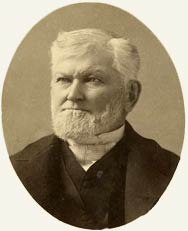 Woodruff in 1889 – he had seven wives across his life, and 33 children.