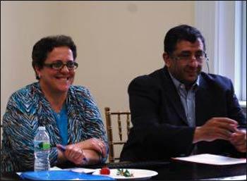 Ilham Nasser and Mohammed Abu-Nimer Photo: Kathy Aquilina