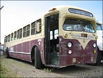 A 'retired' General Motors bus. Photo: Wikipedia