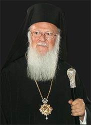 Bartholomew I –   Photo: Wikimedia