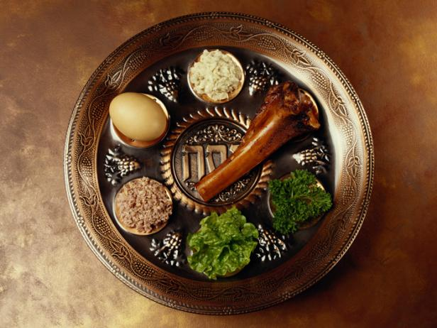 Traditional foods for Passover Seder