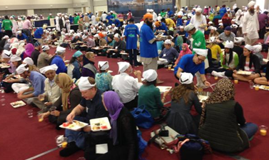 Langar was served daily at the Salt Lake City 2015 Parliament of the World's Religions. – Photo: TI