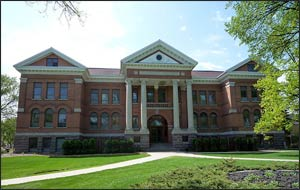 Concordia College's Old Main was built in 1906. Photo: Wikimedia