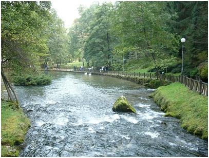The Ilidža River in Bosnia – Photo: Wikipedia, BiHVolim