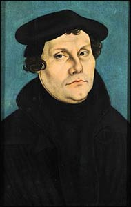 Luther (1533) by Lucas Cranach the Elder – Photo: Wikipedia