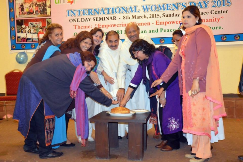 URI Pakistan Celebrating Women's Day in 2015 – Photo: United Religions Initiative