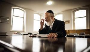 Four Germans have filed criminal complaints against Rabbi David Goldberg, above, over ritual circumcision. Photo: Gordon Welters
